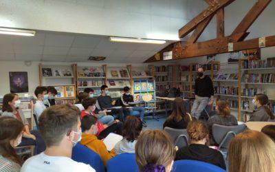 Prix T'aimes Lire : rencontre avec Gaël Aymon